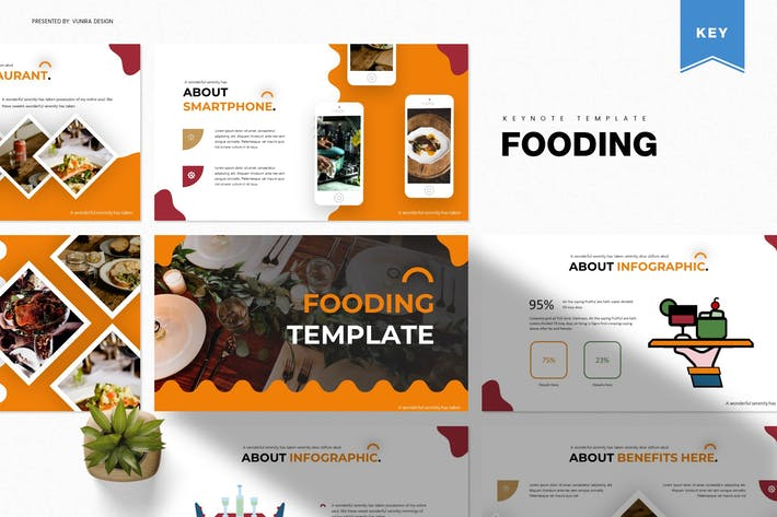 Thumbnail for Fooding | Keynote Template