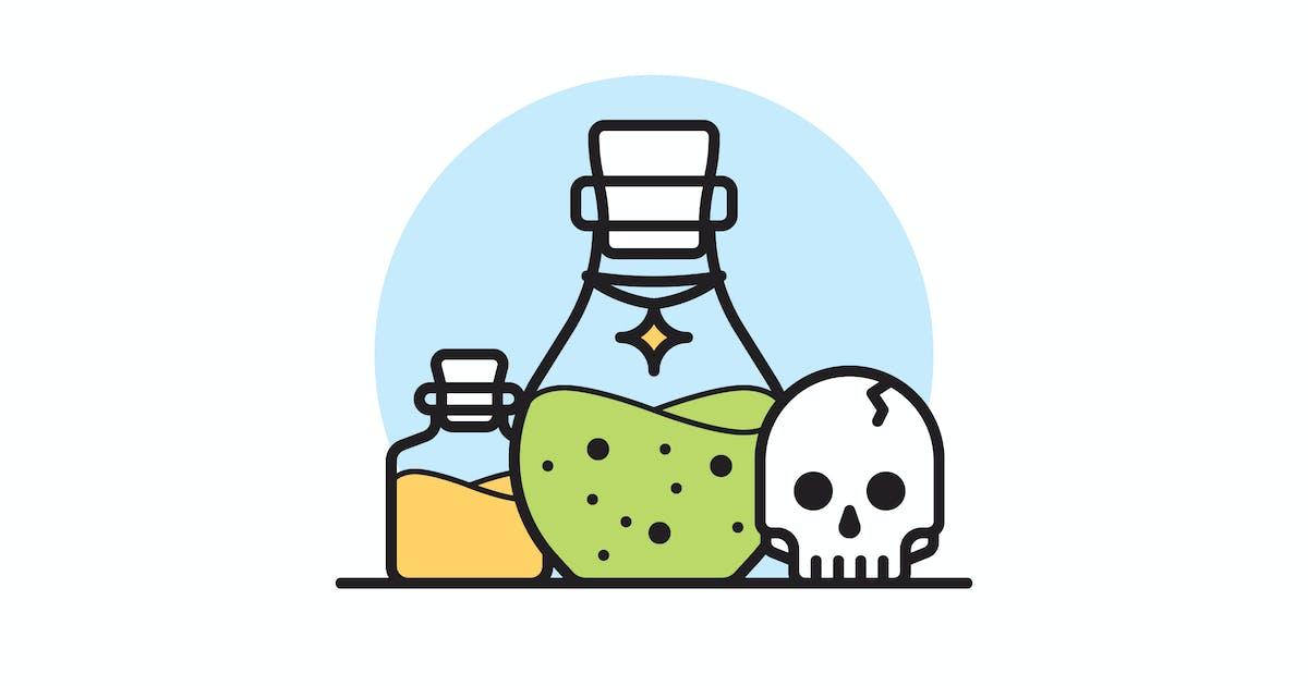 Download Poison vector illustration by mir_design