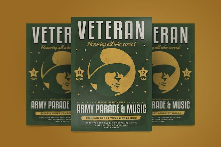 Thumbnail for Veteran Day Flyer