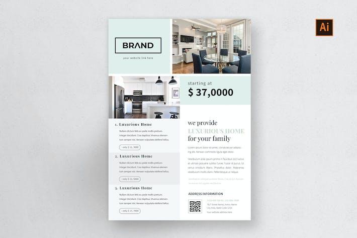 Thumbnail for NS - Unternehmens- Real Estate Flyer Vol.1