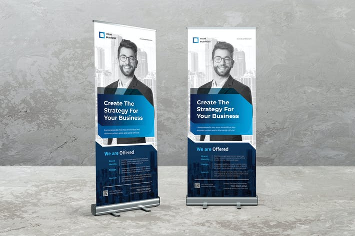 Thumbnail for Corporate Roll Up Banner