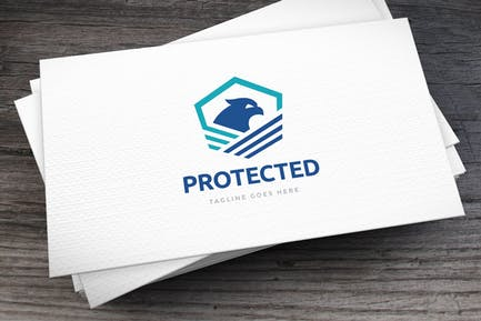 Protected Logo Template
