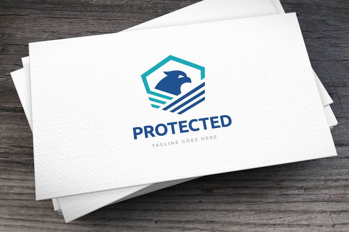 Thumbnail for Protected Logo Template