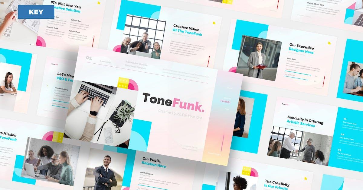 Download ToneFunk Creative Business - Keynote UP by Rometheme