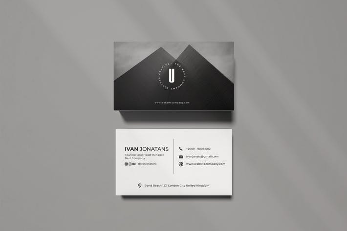 Thumbnail for U Creative Business Card