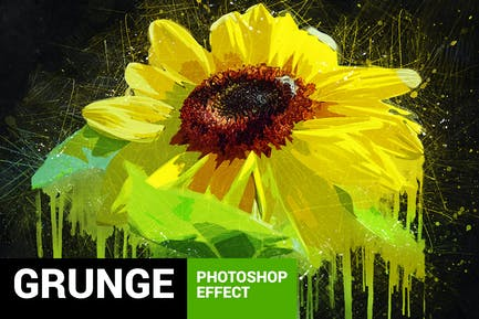 Posterum - Grunge Painting Photoshop Action