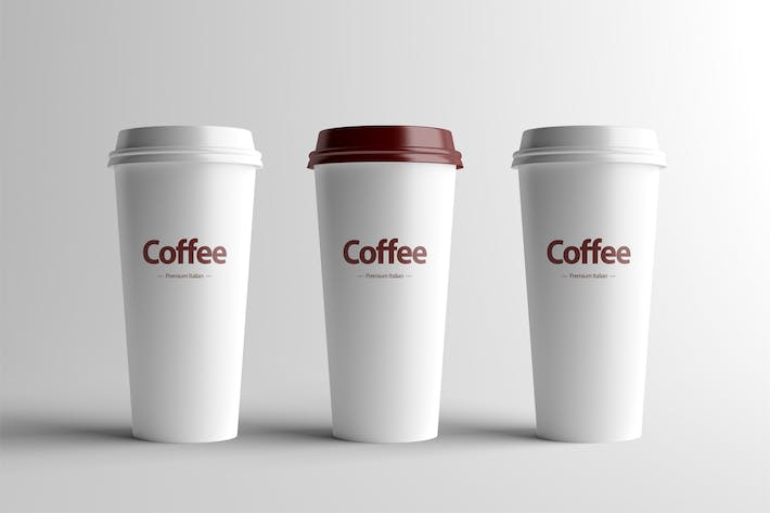 Thumbnail for Paper Coffee Cup Mock-Up - Large