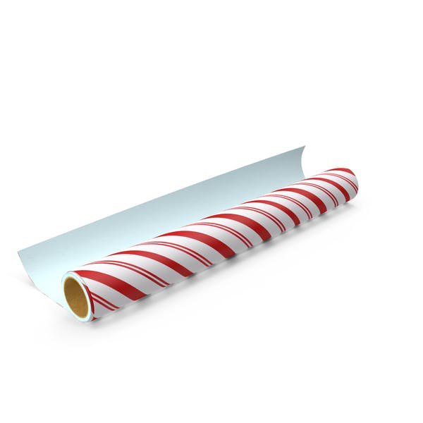 Striped Wrapping Paper Roll