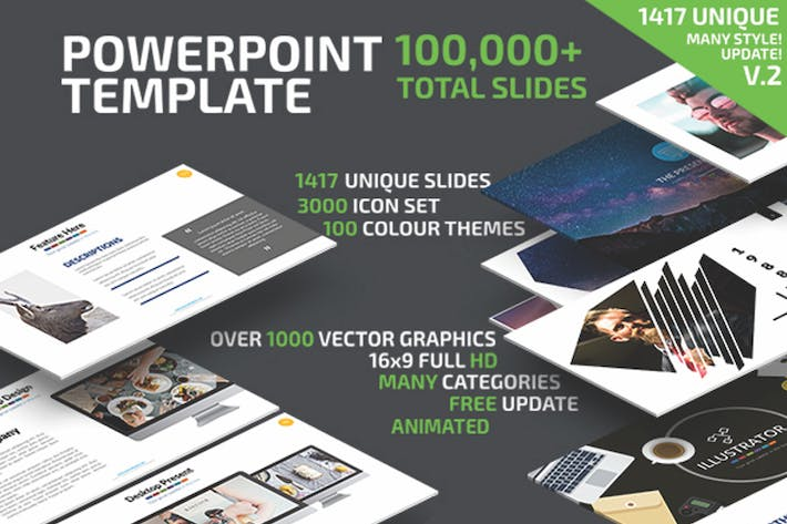 Thumbnail for Powerpoint Presentation Template Update V.2