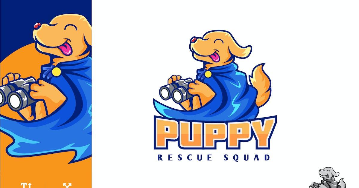Download Puppy Animal Rescue Logo Illustration Vector by naulicrea