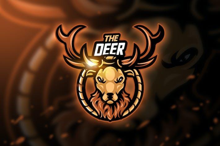 Thumbnail for Deer - Mascot & Esport Logo