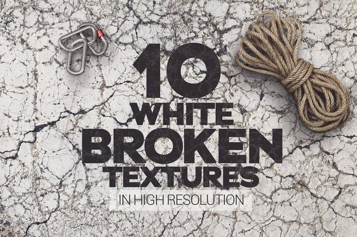 Thumbnail for Broken White Rocks Textures x10