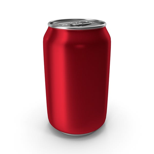 Aluminum Can 330ml Red