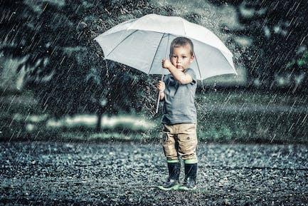 RainStorm Photoshop Action