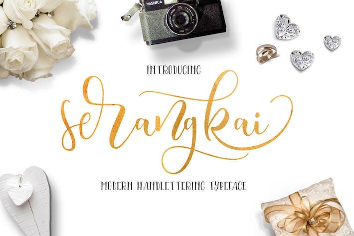 Cover Image For Serangkai Typeface
