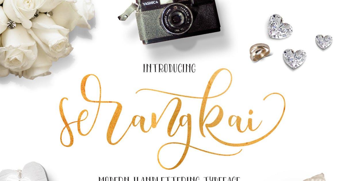 Download Serangkai Typeface by thirtypath