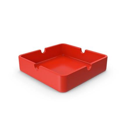 Ashtray Red