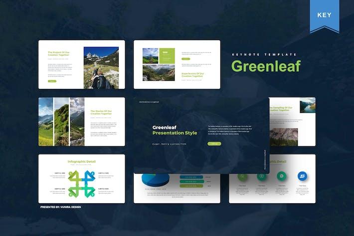 Thumbnail for Greenleaf | Шаблон Keynote