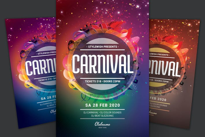 Thumbnail for Carnival Flyer