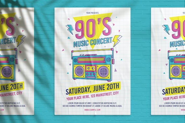 Thumbnail for 90's Music Concert