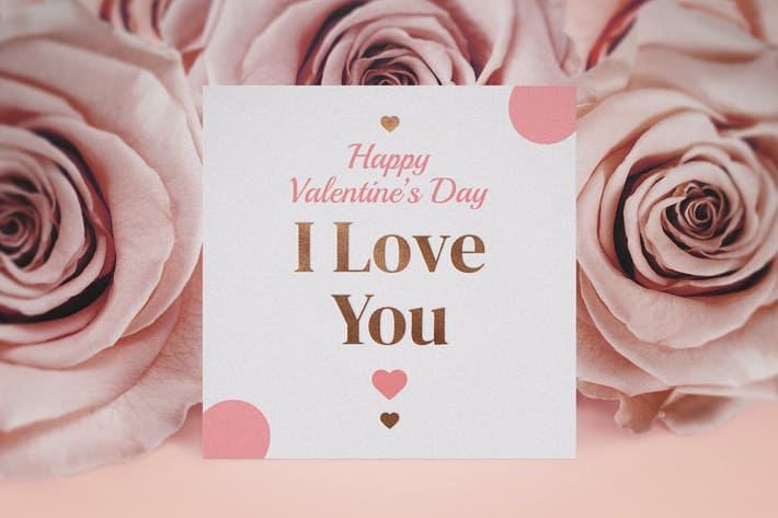 Thumbnail for Valentine's Day Mockup Template