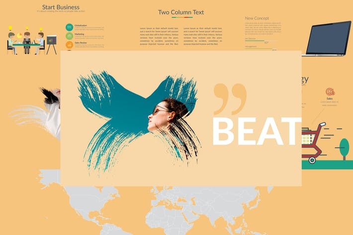 BEAT Powerpoint Template