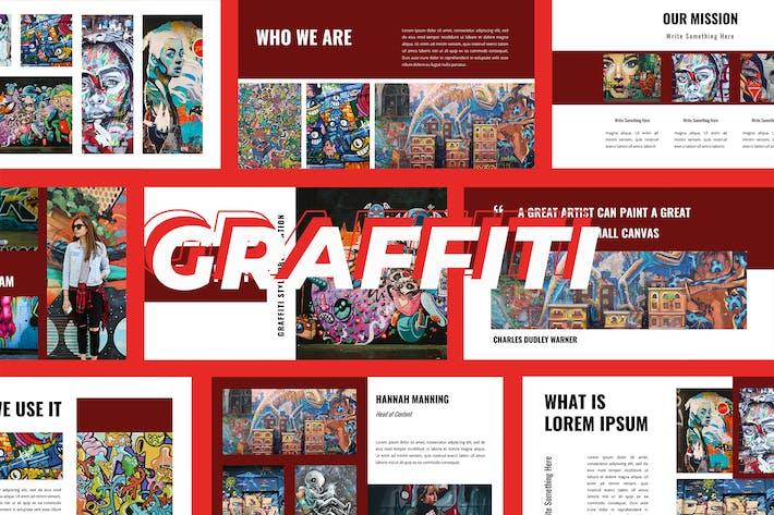 Thumbnail for Grafitti -  Google slide Presentation