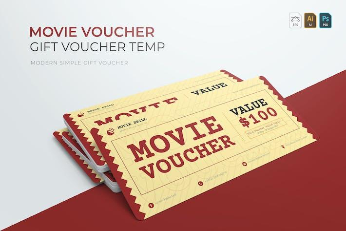 Movie Voucher   Gift Voucher