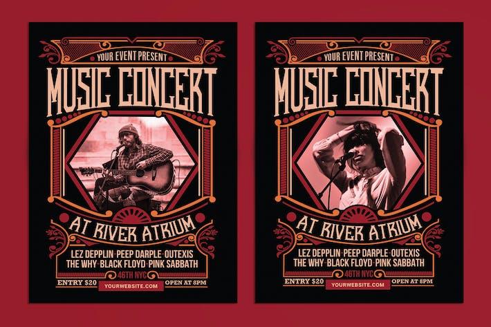 Thumbnail for Music Concert Flyer