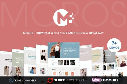 Moros - eCommerce WordPress Tema