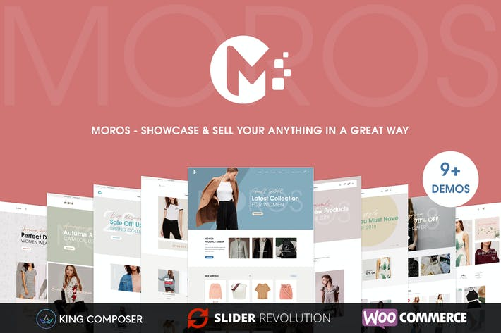Moros - eCommerce WordPress Tema
