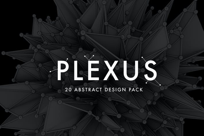 Cover Image For Plexus - 20 Abstract Design Pack