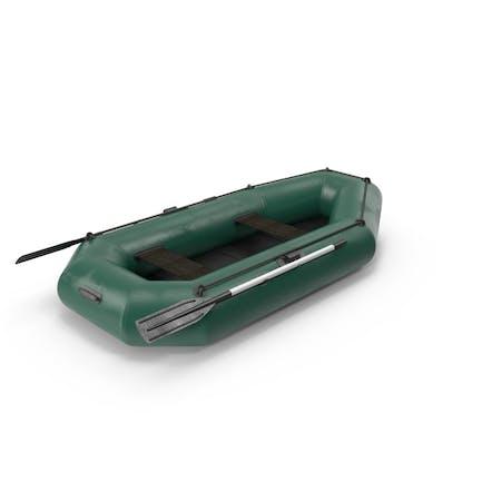 Schlauchboot aus Gummi
