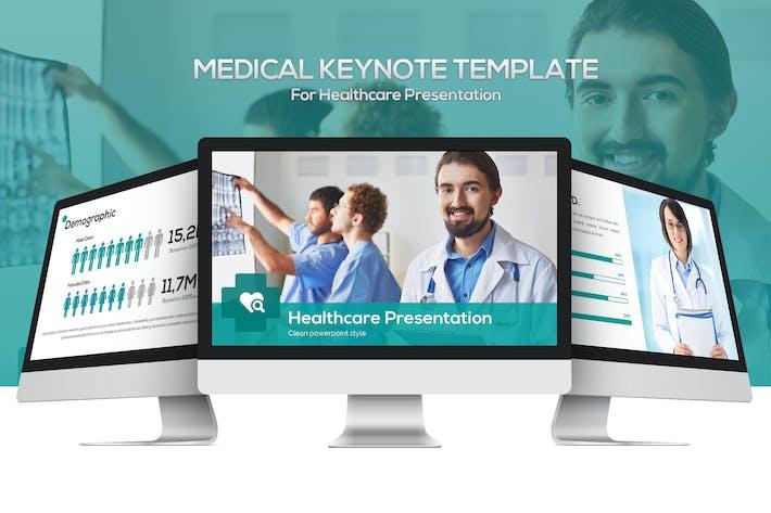 Шаблон Keynote медицинского назначения