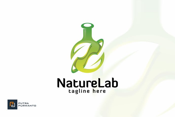 Thumbnail for Nature Lab - Logo Template