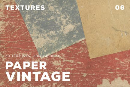 30 Vintage Paper Textures | 06
