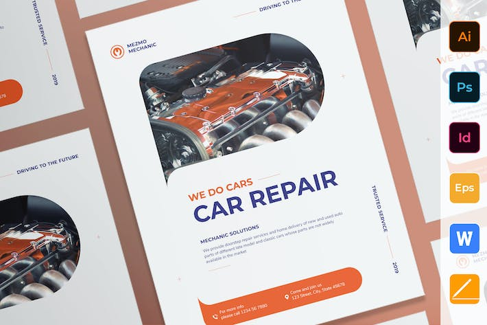 Thumbnail for Car Repair Poster