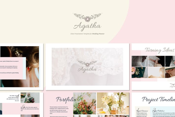 Thumbnail for Agatha - Wedding Planner Powerpoint
