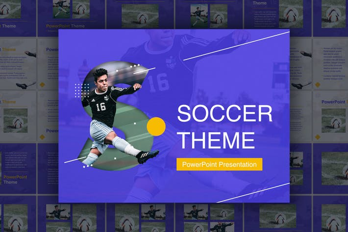 Soccer Powerpoint Template By Jumsoft On Envato Elements
