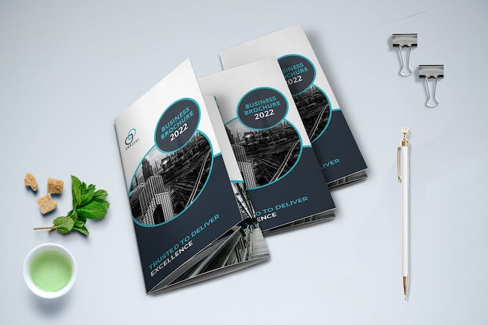 Cover Image For Trifold Business Brochure