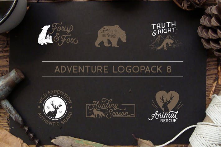 Thumbnail for Adventure Logopack Vol. 6