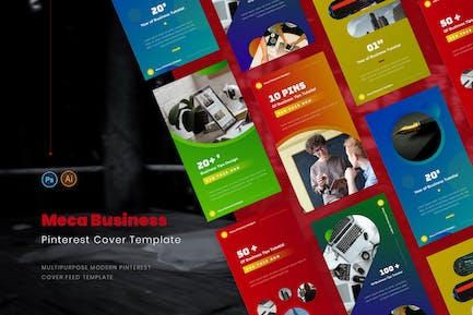 Meca Business Pinterest Cover