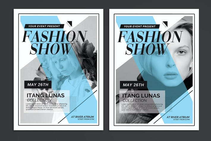 Thumbnail for Fashion Show Flyer