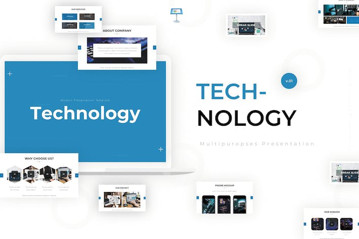 Thumbnail for Technology - Keynote Template