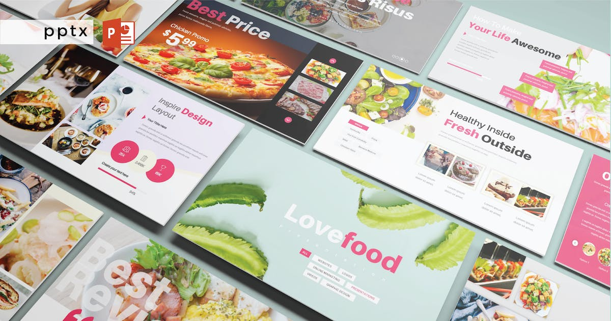 Download LOVEFOOD - Powerpoint  V271 by Shafura