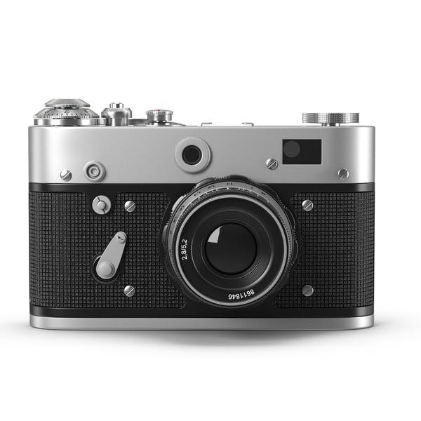 Cover Image for Vintage Rangefinder Camera