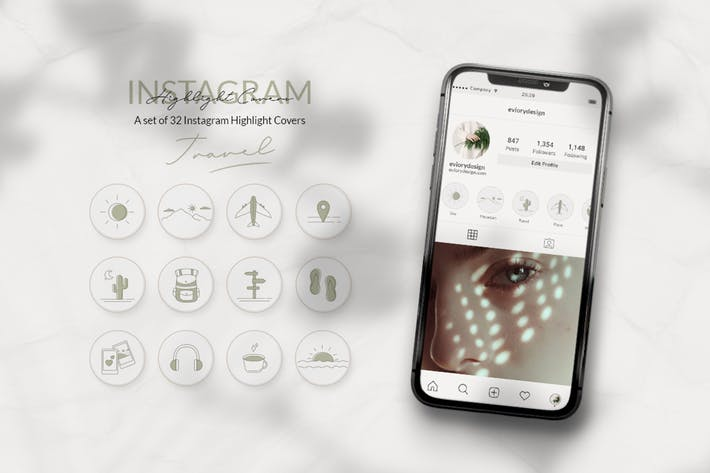 Instagram Highlight Travel and Explore