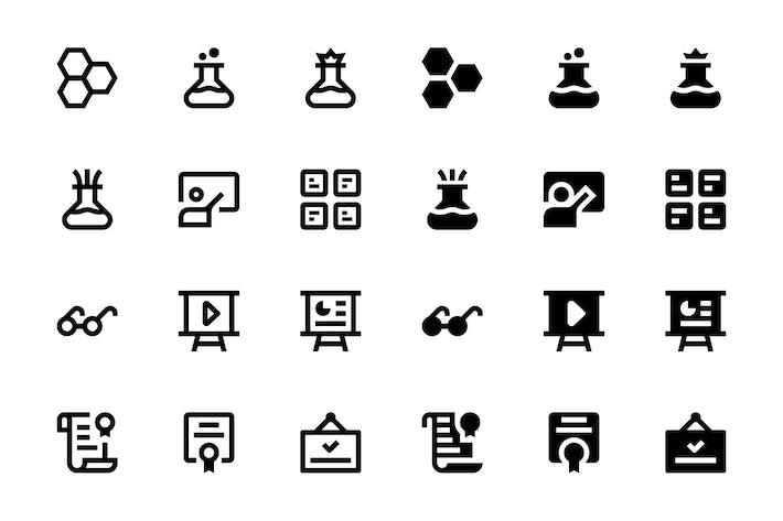 Thumbnail for 24 Education Icons