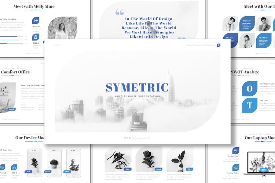 Symetric - Keynote Template