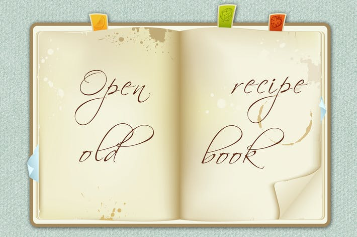 Thumbnail for Open Recipe Book